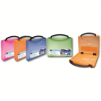 K2 40mm Document Case (Mix Colour) / 1 box