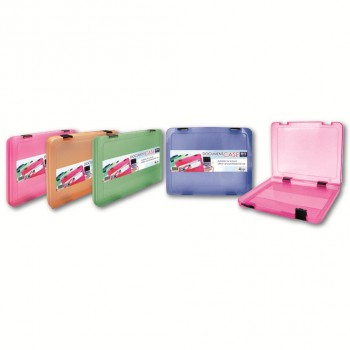 K2 50mm Document Case (Mix Colour) / 1 box