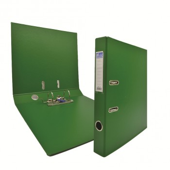 "EMI 2"" PVC Arch File (A4) - Green / 6pcs"