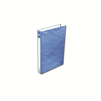 K2 8925 Fancy Hard Cover Ring File (Blue) / 48pcs