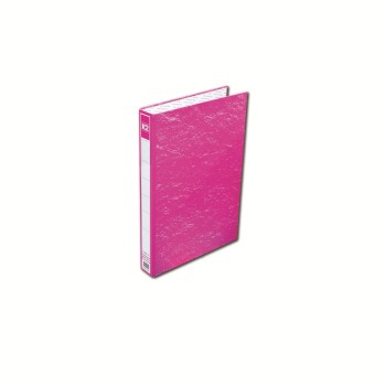 K2 8925 Fancy Hard Cover Ring File (Pink) / 48pcs