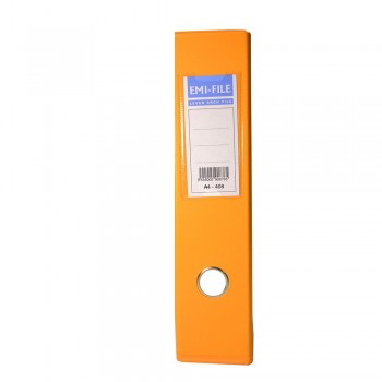 "EMI 3"" PVC Arch File (A4) - Fancy Orange / 25pcs"