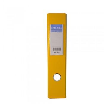 """EMI 3"""" PVC Arch File (A4) - Yellow / 25pcs"""