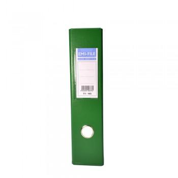 "EMI 3"" PVC Arch File (F4) - Green / 1 box"