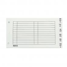 Arch File Index Divider White (A-Z) / 1 set