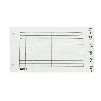 Arch File Index Divider White (A-Z) / 1 set
