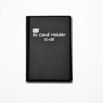 K2 ID Card Holder 08 - Black / 1 packet