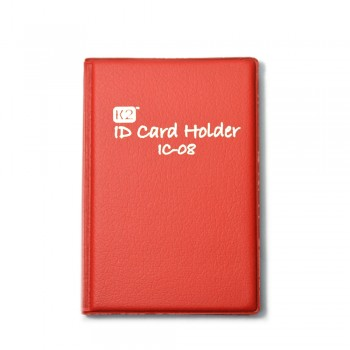 K2 ID Card Holder 08 - Red / 12pcs