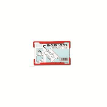ID 2020 Card Holder - Red / 1 box
