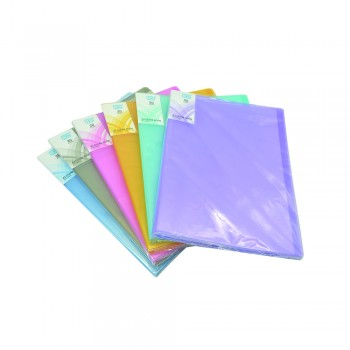 PP Clear Book 20's (Mix Colour) / 24pcs