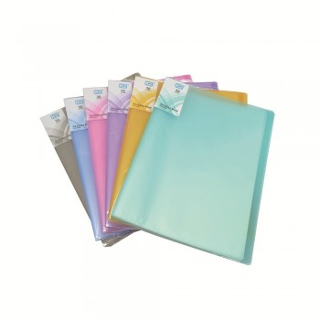 PP Clear Book 30's (Mix Colour)  / 24pcs