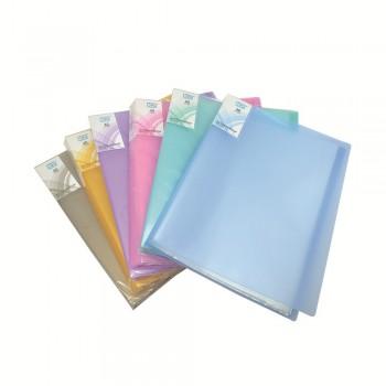 PP Clear Book 40's (Mix Colour) / 12pcs