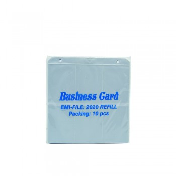 2020 Name Card Holder (Refill) / 1 pkt