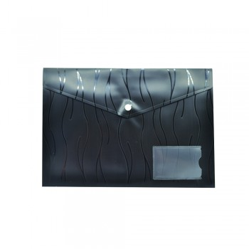 PP Document Holder A4 (Black) / 1 packet