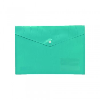 PP Document Holder A4 (Dark Green) / 1 packet
