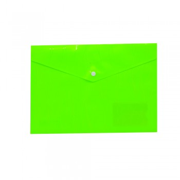 PP Document Holder A4 (Green) / 1 packet
