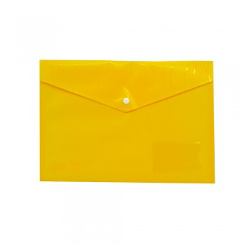 PP Document Holder A4 (Yellow) / 1 packet