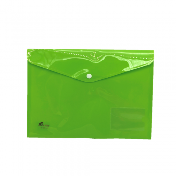 PP Document Holder A4 (Green) / 12pcs