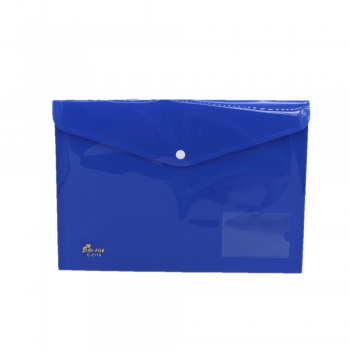 PP Document Holder A4 (Blue) / 12pcs
