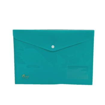 PP Document Holder A4 (Fancy Green) / 12pcs