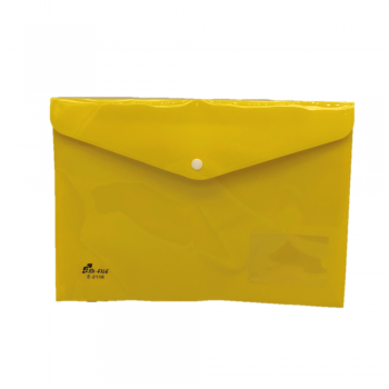 PP Document Holder A4 (Yellow) / 12pcs