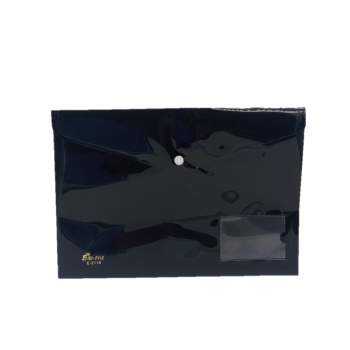 PP Document Holder A4 (Black) / 12pcs