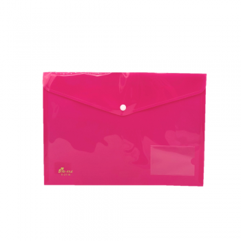 PP Document Holder A4 (Pink) / 12pcs