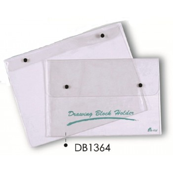 DB1364 PVC Drawing Block with Button