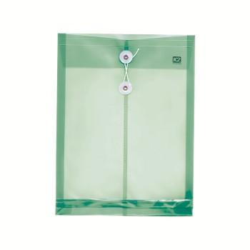 PP Envelope File A4 - (Green) / 12pcs