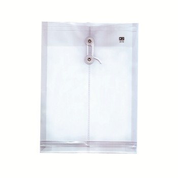 PP Envelope File A4 - (White) / 1 packet