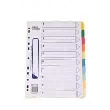 Paper Index (10 Colour) / 15 pads