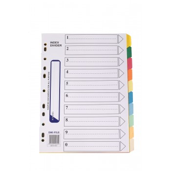 Paper Index (10 Colour) / 15 pads