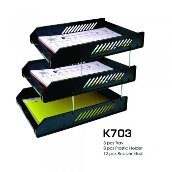 K703 Letter Tray (3 Layer) / 1 set