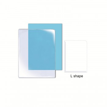 L Shape Holder A4 0.18mm / 1 box
