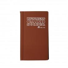 3120 Name Card Holder - Brown / 12 pcs