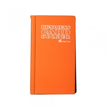 3120 Name Card Holder - Orange / 12 pcs
