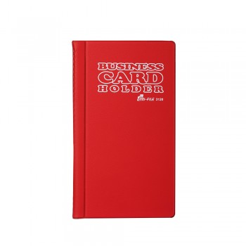 3120 Name Card Holder - Red / 12 pcs