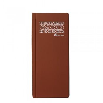 3240 Name Card Holder - Brown / 12 pcs