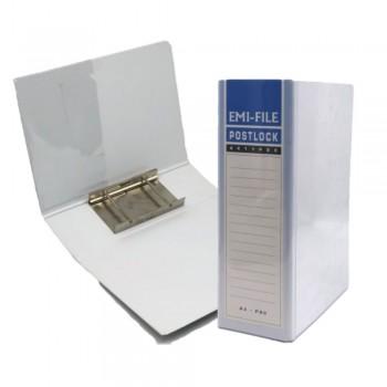 2 Post Lock File (80mm) - White / 20pcs