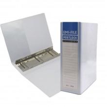 3 Post Lock File (80mm) - White / 20pcs