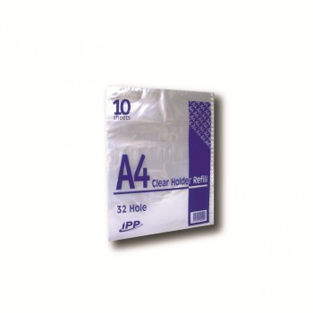 IPP Clear Holder Refill A4/'10s / 100 pkt