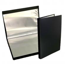 PP A5 Clear Book 20's (Black Colour) / 24pcs