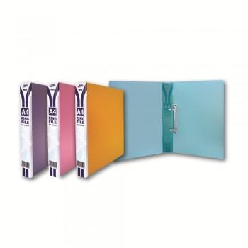 PP 252A 25mm 2D Ring File - Mix Colour / 12pcs