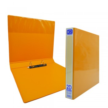 K2 GAT 25MM 2D Ring File - Fancy Orange / 6 pcs