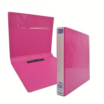 K2 GAT 25MM 2D Ring File - Fancy Pink / 50 pcs