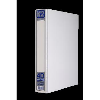 K2 GAT 40MM 4D Ring File / 40 pcs