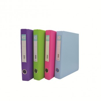 K2 Glue on Ring File (L125) - Mix Colour / 50 pcs