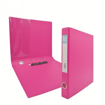 K2 Glue on Ring File (L125) - Fancy Pink / 50 pcs