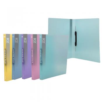 PP Spring File A4 (Mix Colour) / 12 pcs