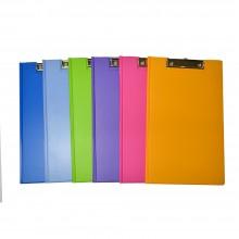 PVC Student File Wire Clip A4 (2100) - Mix Fancy Colour / 12pcs